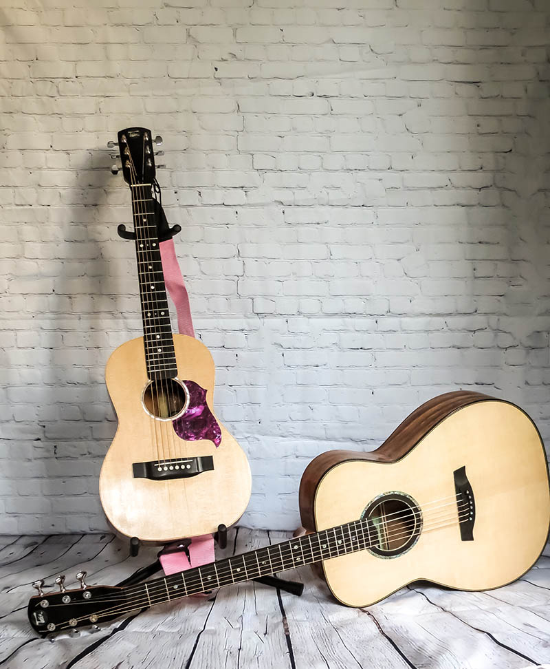 pair-of-guitars